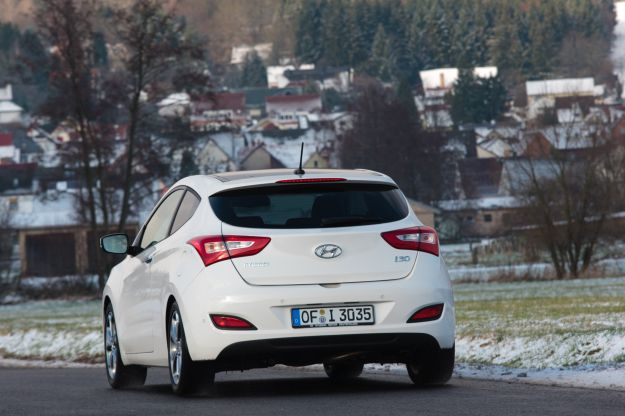 Hyundai i30 3 porte posteriore