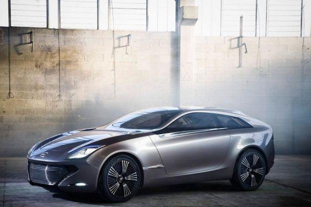 Hyundai ioniq concept prima immagine