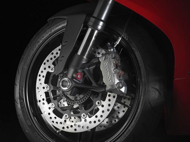 Impianto frenante della Ducati 899 Panigale