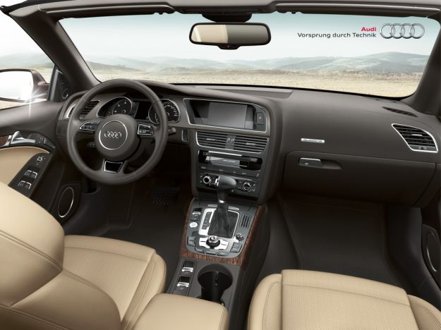 Interni Audi A5 Cabriolet