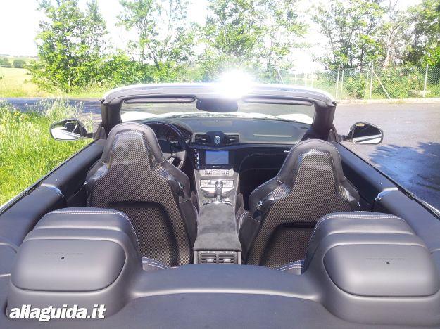 Interni Maserati GranCabrio MC