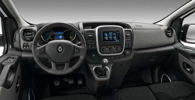 Interni Nuovo Renault Trafic