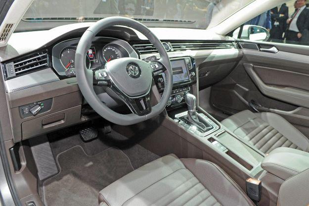 Interni Volkswagen Passat Variant 2015