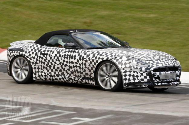 Jaguar F Type R, anteriore