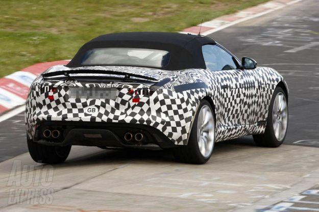 Jaguar F Type R, coda