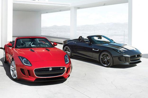 Jaguar F Type foto ufficiale