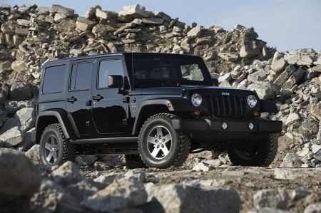 Jeep Wrangler Call of Duty Black Ops Edition 3