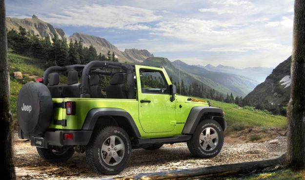 Jeep Wrangler Mountain posteriore