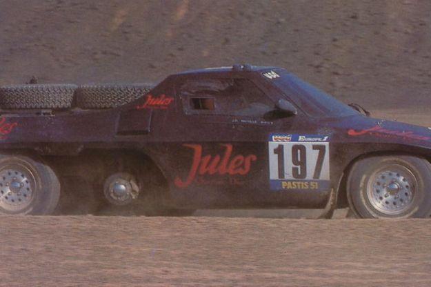 Jules II proto 6 ruote Dakar 1984