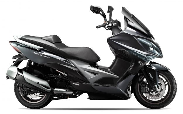 Kymco Xciting 400i ABS 2014 nero