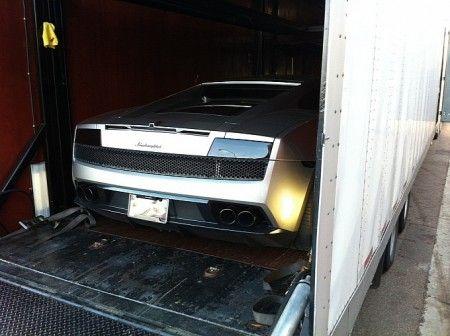 Lamborghini Gallardo grigia 3