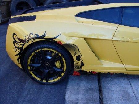 Lamborghini Gallardo tuning retro