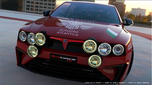 Lancia Delta Evoluzione GT Concept