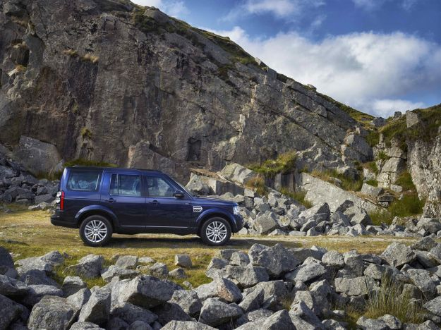 Land Rover Discovery 2014, fiancata