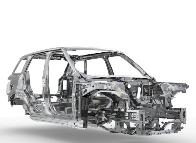 telaio in alluminio