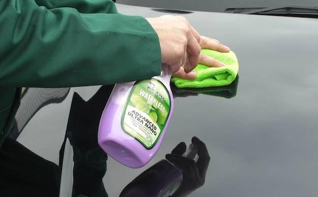 Lavaggio a secco auto