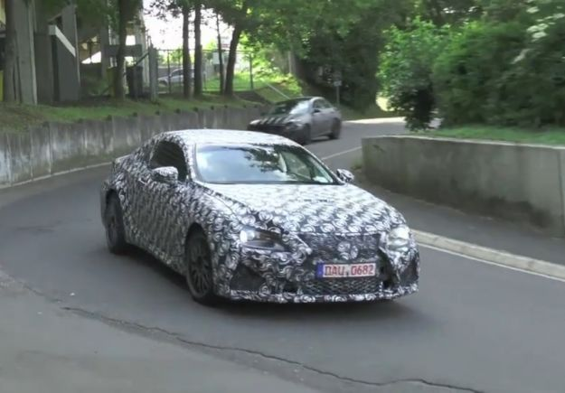 Lexus IS coupe 2014, fari