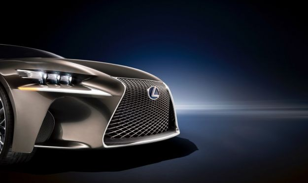 Lexus LF CC concept, calandra
