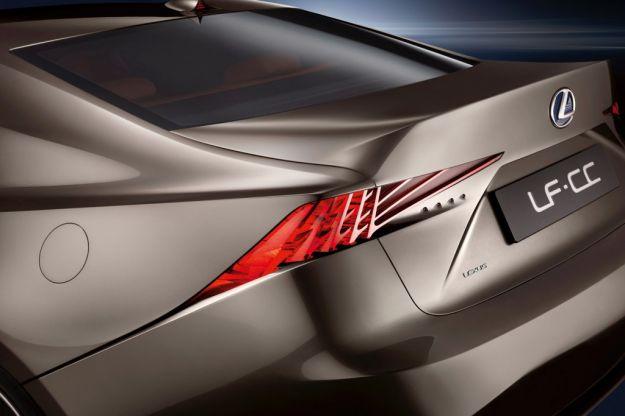 Lexus LF CC concept, luci led