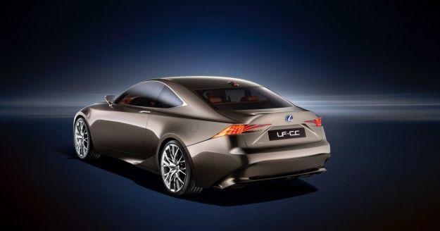 Lexus LF CC concept, posteriore
