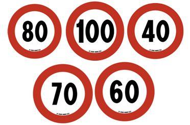 Limiti velocità cartello varie