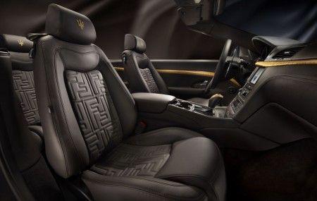 Maserati GranCabrio Fendi interni