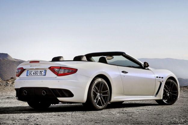 Maserati GranCabrio MC Stradale posteriore