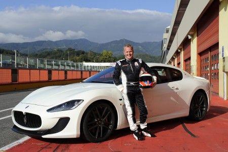 Maserati GranTurismo MC Stradale con Johny Herbert