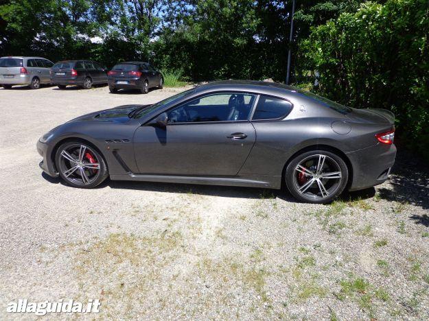 Maserati GranTurismo MC Stradale, dimensioni