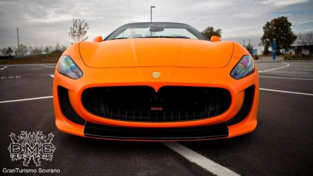 Maserati Grancabrio Sovrano DMC, calandra