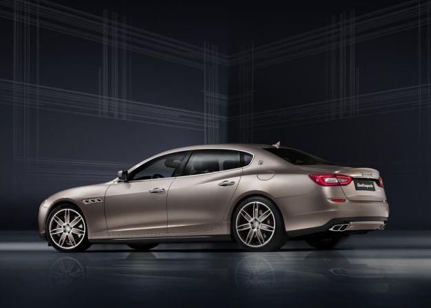 Maserati Quattroporte Ermenegildo Zegna, caratteristiche