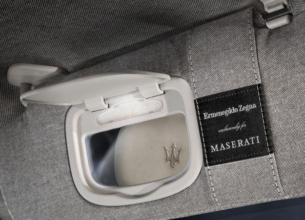 Maserati Quattroporte Ermenegildo Zegna, dettaglio