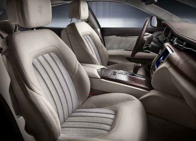 Maserati Quattroporte Ermenegildo Zegna, interni