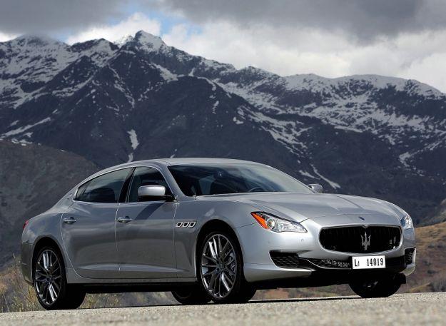 Maserati Quattroporte frontale