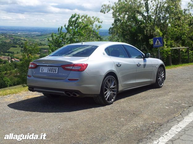 Maserati quattroporte, stile
