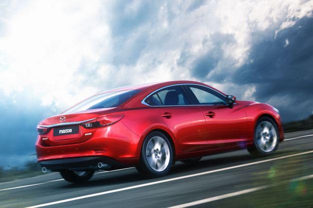 Mazda 6 posteriore