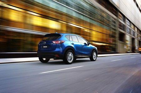 Mazda CX 5 posteriore