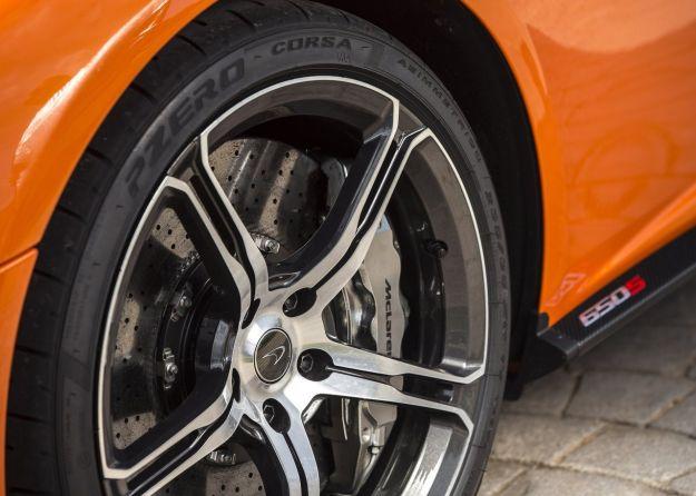 McLaren 650S cerchio in lega