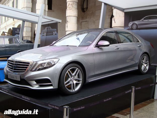 Mercedes Benz Classe S 2014 Grigio metallizzato