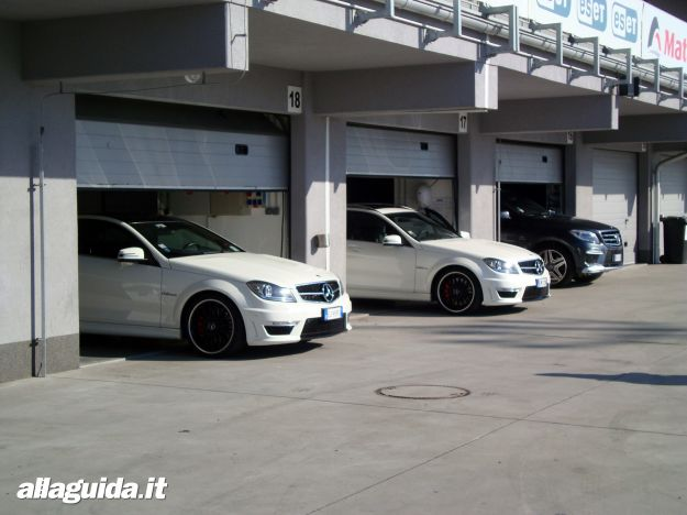Mercedes C63 AMG Performance Station Wagon ed altre AMG