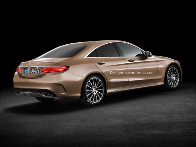 Mercedes CLC 2015 rendering