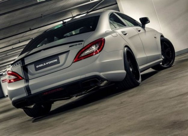 Mercedes CLS 63 AMG by Wheelsandmore posteriore