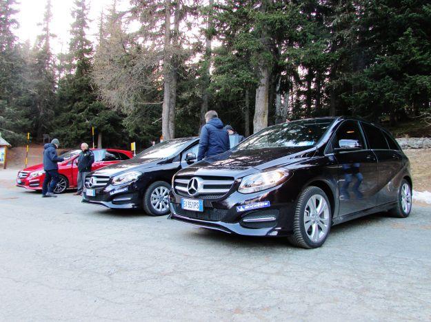 Mercedes Classe B  allestimenti
