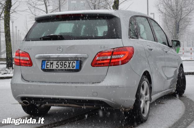 Mercedes Classe B, prova su strada