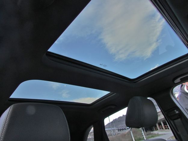 Mercedes Classe B tetto panoramico