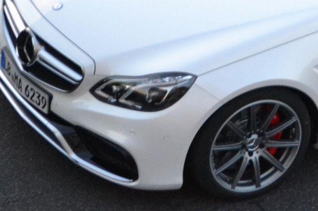 Mercedes Classe E 2013, paraurti