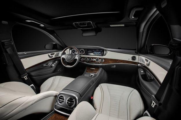 Mercedes Classe S 2014 interni