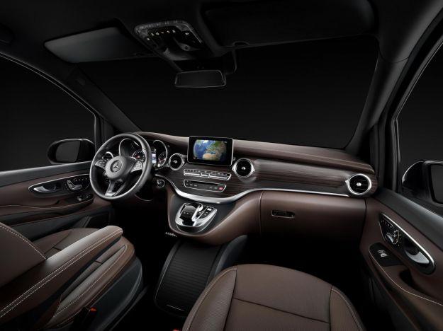 Mercedes Classe V 2014 interni