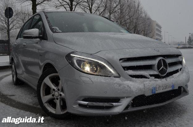 Mercedes Classe b, esterni