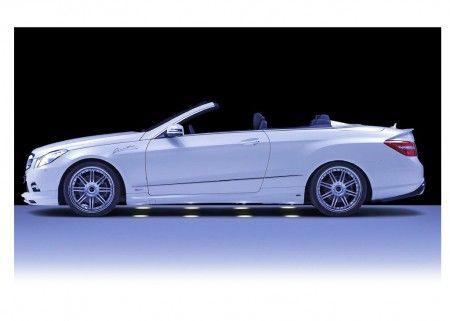 Mercedes E Class Cabrio Piecha fiancata